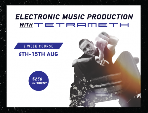Book Now for our 4-week DJ course with Tetrameth!