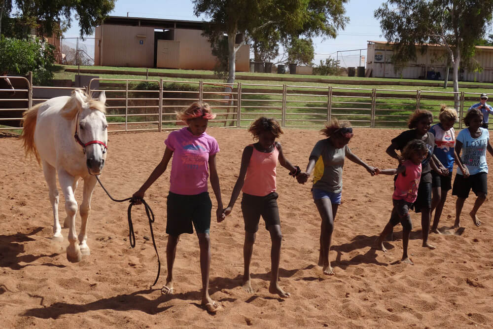 Village Off The Streets - Kids With Horses